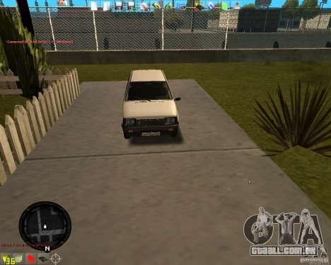 OKA VAZ 11113 para GTA San Andreas esquerda vista