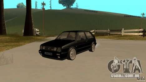 Volkswagen Golf Mk2 para GTA San Andreas