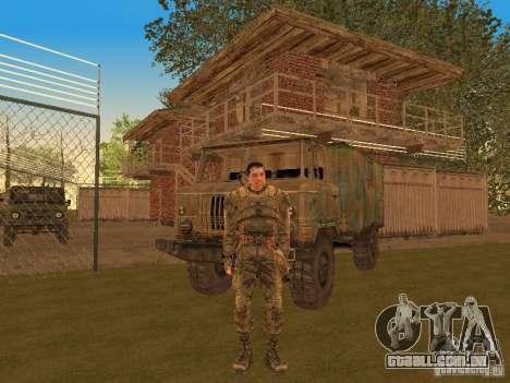 Degtyarev de Stalker para GTA San Andreas terceira tela