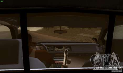 Ford Crown Victoria Kentucky Police para GTA San Andreas traseira esquerda vista
