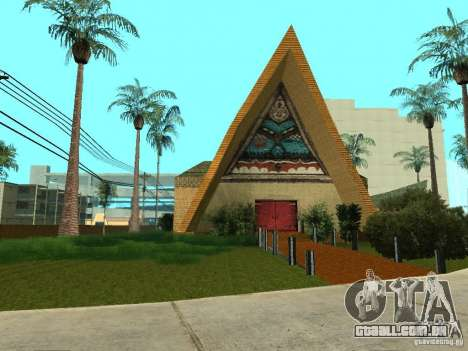 Novas texturas para casino peregrino para GTA San Andreas por diante tela