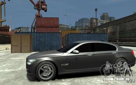 Bmw 750 LI v1.0 para GTA 4 esquerda vista