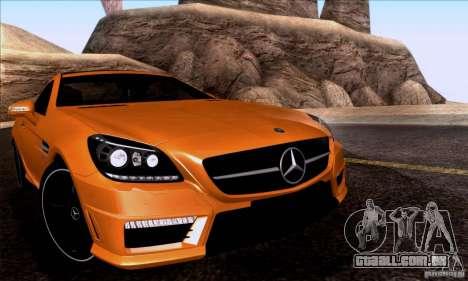 SA_nGine v 1.0 para GTA San Andreas por diante tela