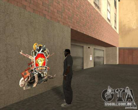 Graffiti stalkers para GTA San Andreas segunda tela
