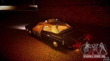 AMC Matador CHP [ELS] para GTA 4 rodas