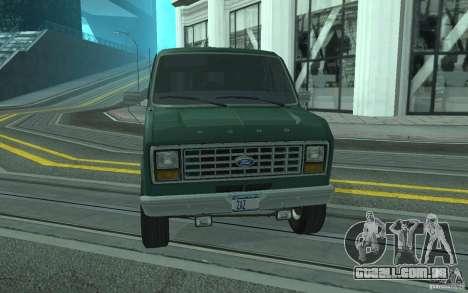 Ford E-150 Short Version v3 para vista lateral GTA San Andreas