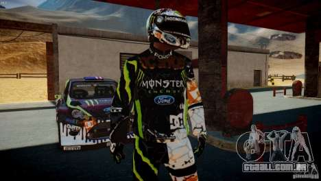 Ken Block Gymkhana 5 Clothes (Unofficial DC) para GTA 4 segundo screenshot