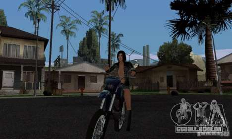 Um piloto forte para GTA San Andreas segunda tela