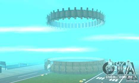Airport Stunt para GTA San Andreas segunda tela