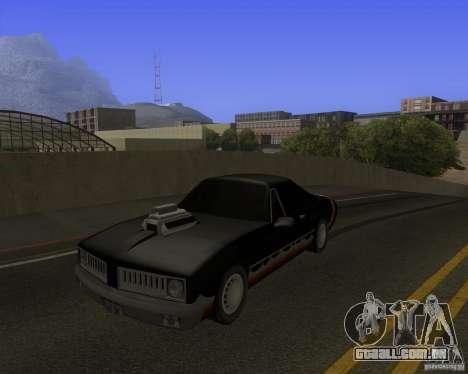 HD Diablo para GTA San Andreas vista traseira