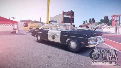 AMC Matador CHP [ELS] para GTA 4 interior
