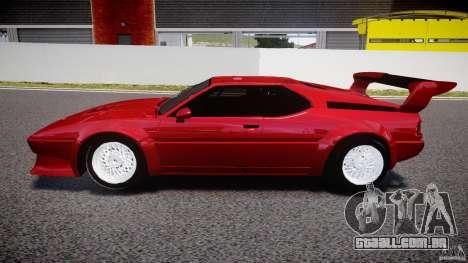 BMW M1 [Beta] para GTA 4 esquerda vista