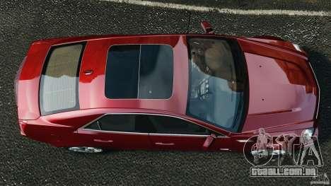 Cadillac CTS-V 2009 para GTA 4 vista direita