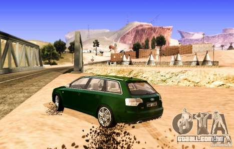 Audi S4 Avant para GTA San Andreas vista direita