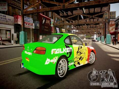 Nissan Silvia S15 Boso Drift Formula D M-Design para GTA 4 vista direita