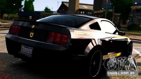 Ford Mustang (Shelby Terlingua) v1.0 para GTA 4 esquerda vista