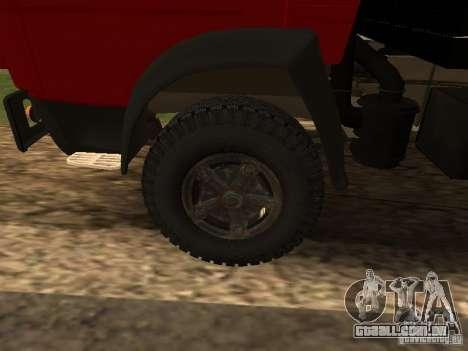 KAMAZ 5325 para GTA San Andreas vista traseira