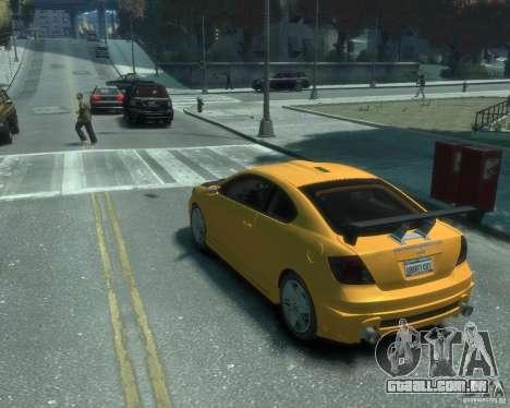 Toyota Scion Tc 2.4 para GTA 4 esquerda vista