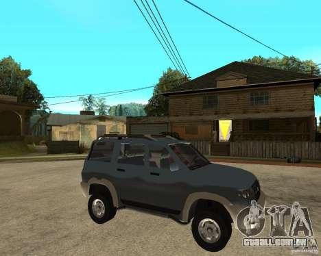 UAZ Patriot 4 x 4 para GTA San Andreas