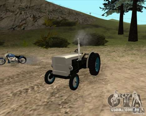 Trator para GTA San Andreas vista direita