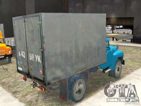 ZIL 130-431410 Final para GTA 4 traseira esquerda vista