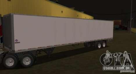 O Popupricep Prostar para GTA San Andreas esquerda vista