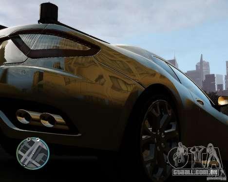 Maserati Grandturismo para GTA 4 vista de volta