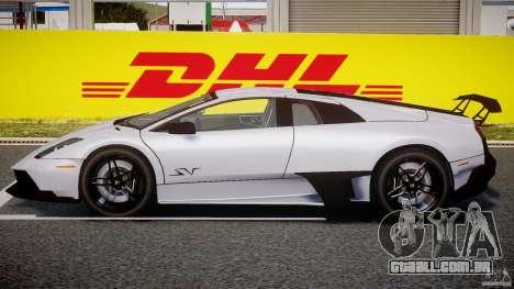 Lamborghini Murcielago LP670-4 SuperVeloce para GTA 4 traseira esquerda vista