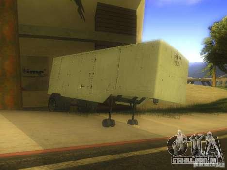 Reboque Odaz 794 para GTA San Andreas esquerda vista
