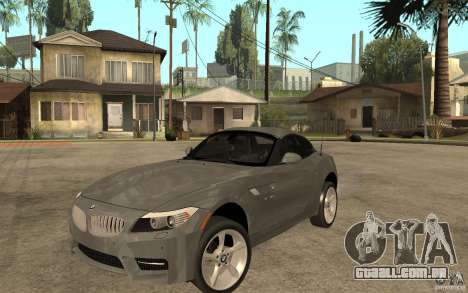 BMW Z4 sdrive35is 2011 para GTA San Andreas