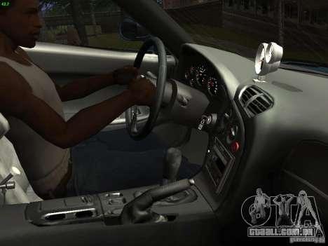 Mazda RX 7 Veil Side para GTA San Andreas vista interior