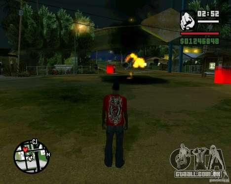 Wrecking ball para GTA San Andreas quinto tela