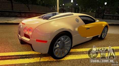 Bugatti Veyron 16.4 v1.0 wheel 2 para GTA 4 vista superior