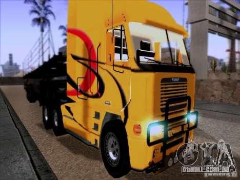 Freightliner Argosy Skin 2 para GTA San Andreas esquerda vista