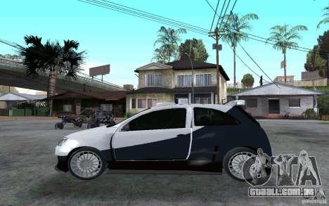 Opel Corsa Sport para GTA San Andreas esquerda vista
