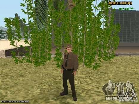SAPD skins para GTA San Andreas por diante tela
