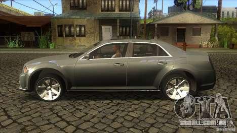 Chrysler 300 SRT-8 2011 V1.0 para GTA San Andreas esquerda vista