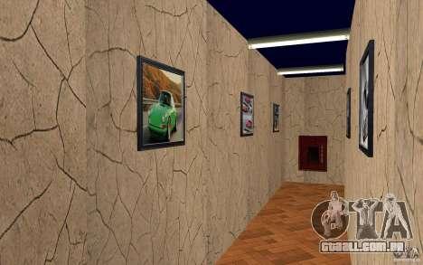 Uma nova escola de condução em San Fierro para GTA San Andreas quinto tela