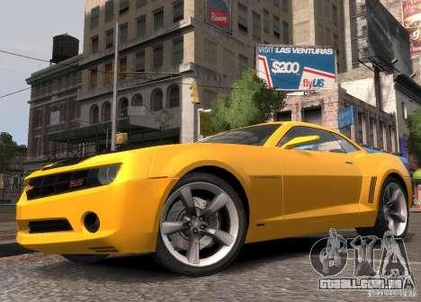 Chevrolet Camaro concept 2007 para GTA 4 esquerda vista