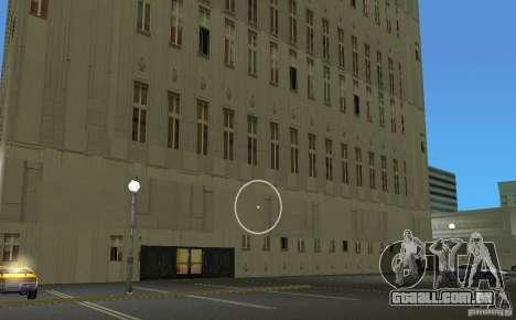 New Downtown: Hospital and scyscrap para GTA Vice City por diante tela