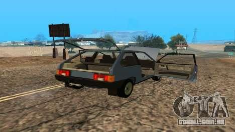 VAZ 2108 para GTA San Andreas interior