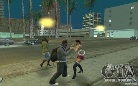 Animação de GTA IV para GTA San Andreas sexta tela