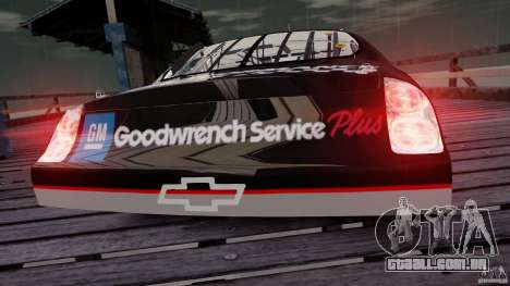 Chevy Monte Carlo SS FINAL para GTA 4 vista direita