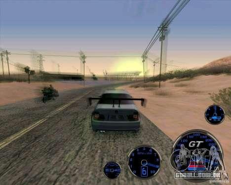 Bmw 330 Tuning para GTA San Andreas vista direita