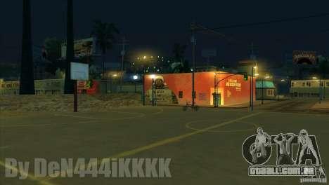 Graffiti para GTA San Andreas por diante tela