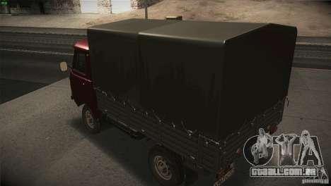 UAZ 3303 girino para GTA San Andreas vista interior