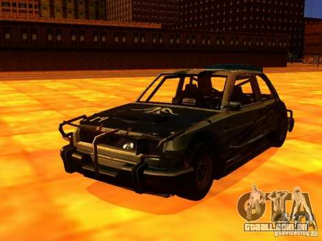 CHILI from FlatOut 2 para GTA San Andreas