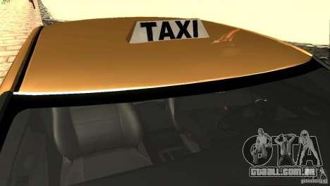 Dodge Charger SRT8 Re-Upload para GTA San Andreas vista superior