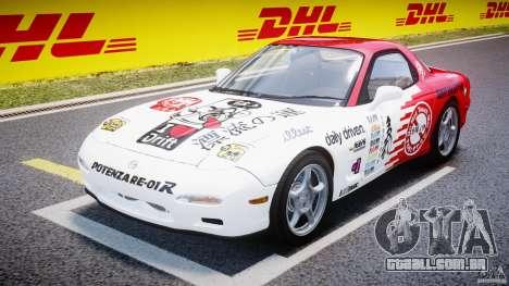 Mazda RX-7 1997 v1.0 [EPM] para GTA 4 vista de volta
