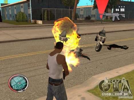 Adição para o GTA IV HUD para GTA San Andreas sétima tela